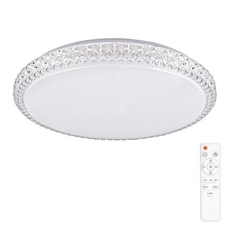 LED Stropné svietidlo IRINA LED/24W/230V s diaľkovým ovládačom