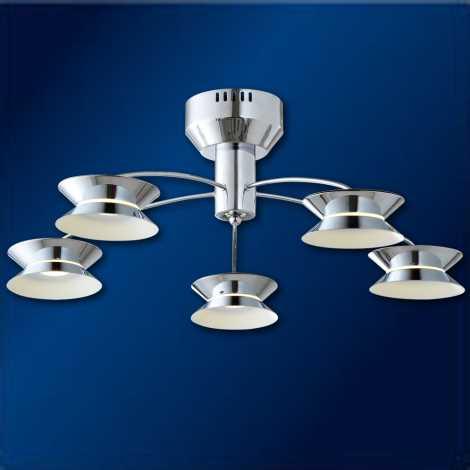 LED Stropné svietidlo LUGANO 5 5xLED/3W