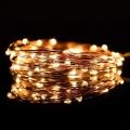 LED Vianočná reťaz 5,4 m 50xLED/3xAA 2700K