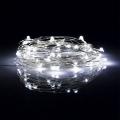 LED Vianočná reťaz 5,4 m 50xLED/3xAA 6500K