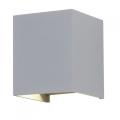 LED Vonkajšie nástenné svietidlo 1xLED/12W/230V IP65