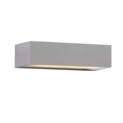 LED Vonkajšie nástenné svietidlo 1xLED/9W/230V IP65 6400K