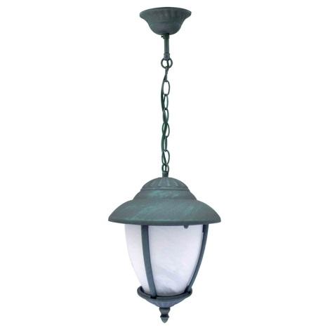 LED Vonkajšie závesné svietidlo ANCONA R Z 1xE27/9W IP44