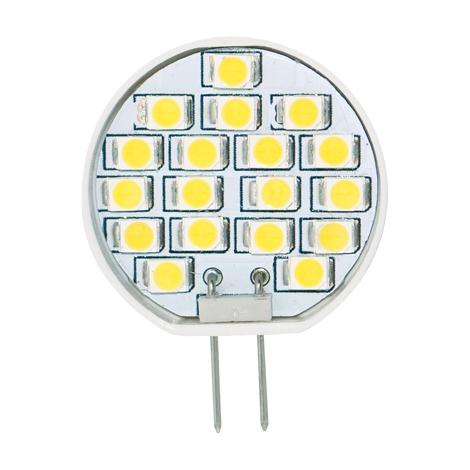 LED žiarovka 1W LED18 SMD 2835 JC teplá biela