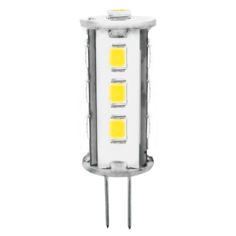 LED žiarovka 2W LED13 SMD 2835 JC teplá biela