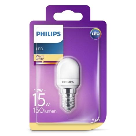LED žiarovka do chladničky Philips E14/1,7W/230V