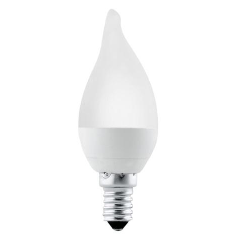 LED žiarovka E14/4W 3000K sviečka