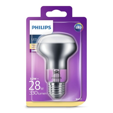 LED Žiarovka E27/3,2W/230V - Philips