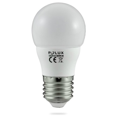 LED žiarovka E27/4,9W/220-240V