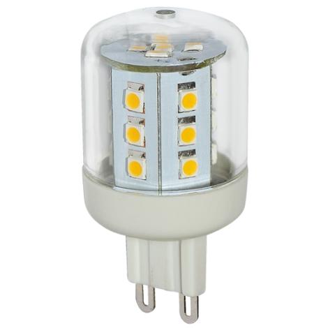 LED žiarovka G9/2,6W LED23 SMD studená biela