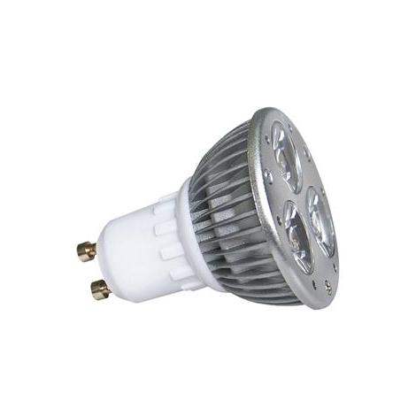 LED žiarovka LED POWER GU10/3W studená biela