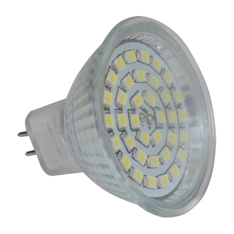 LED žiarovka LED36 SMD MR16/4W/12V CW