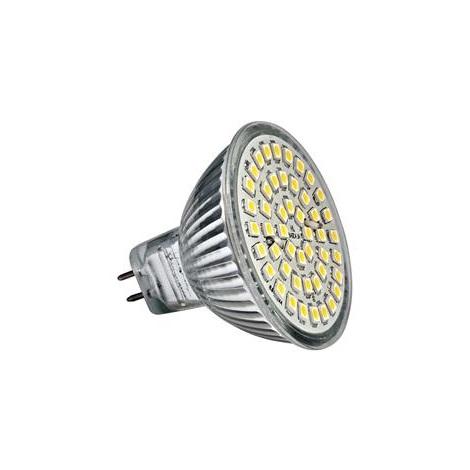 LED žiarovka LED48 SMD MR16/3,5W teplá biela