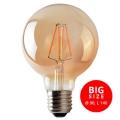 LED Žiarovka LEDSTAR AMBER G95 E27/8W/230V