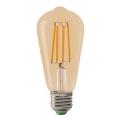 LED Žiarovka LEDSTAR AMBER ST64 E27/10W/230V