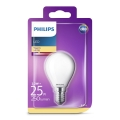 LED Žiarovka Philips E14/2,2W/230V