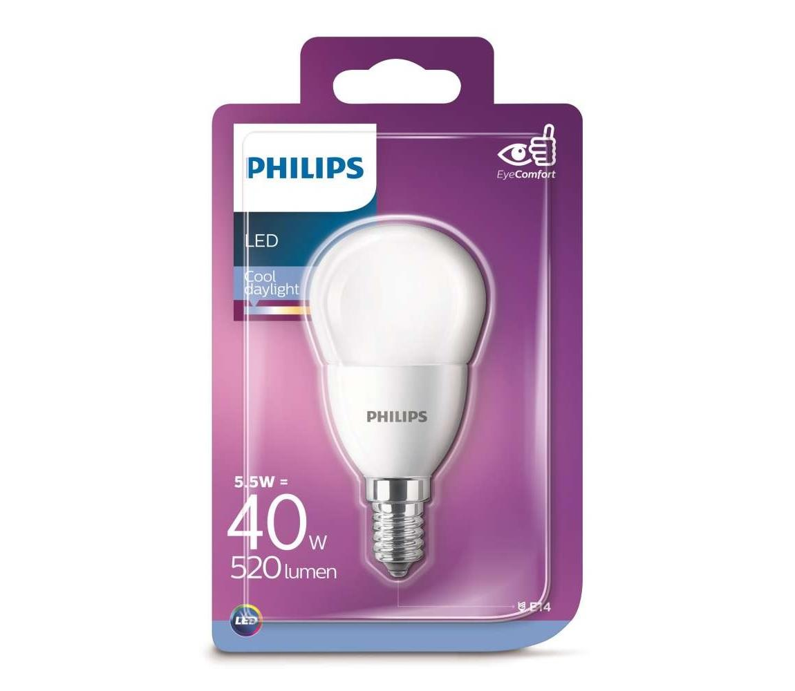 Philips LED Žiarovka Philips E14/5,5W/230V 6500K