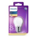 LED Žiarovka Philips E27/2,2W/230V