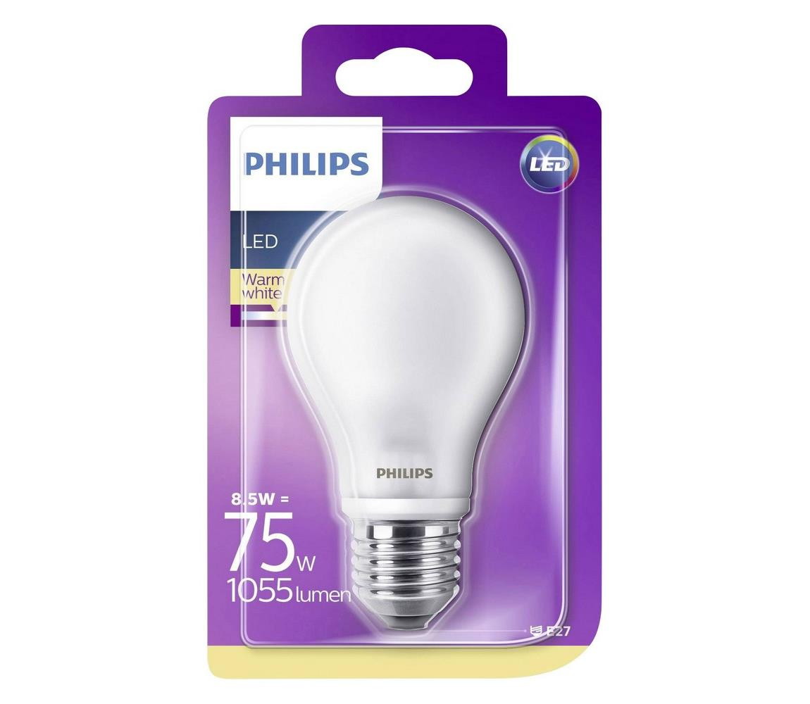 Philips LED Žiarovka Philips E27/8,5W/230V 2700K