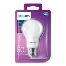LED Žiarovka Philips E27/8W/230V