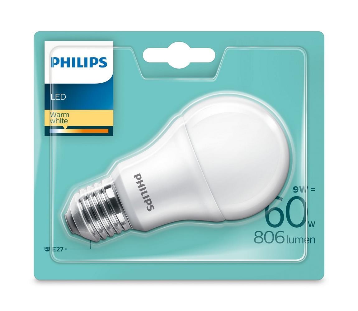 Philips LED Žiarovka Philips E27/9W/230V 2700K