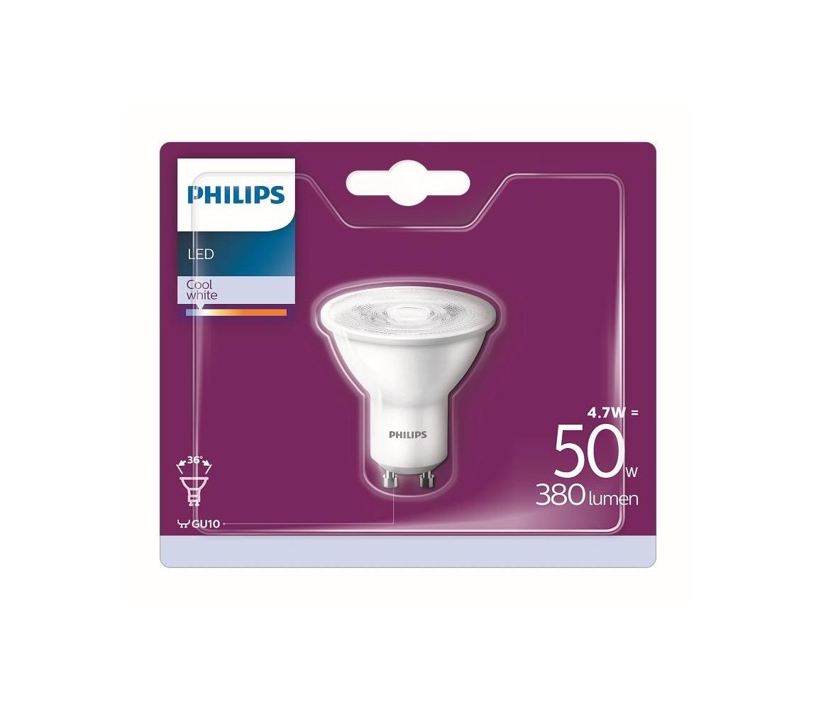 Philips LED Žiarovka Philips GU10/4,7W/230V