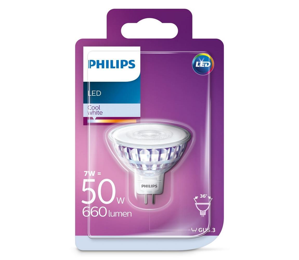 Philips LED Žiarovka Philips GU5,3/7W/12V 4000K