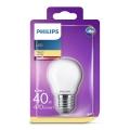 LED Žiarovka Philips P45 E27/4,3W/230V 3000K