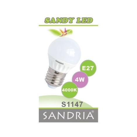 LED žiarovka SANDY E27/4W/230V - Sandria S1147