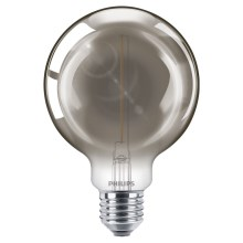 LED Žiarovka SMOKY VINTAGE Philips G93 E27/2,3W/230V 2700K