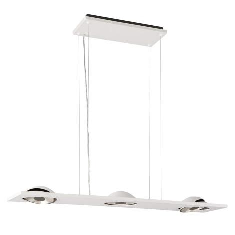Lirio 37095/31/LI - závesné svietidlo TRELOME 3xLED/15W biela