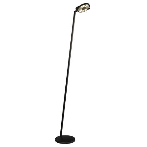 Lirio 42250/30/LI - Stojanová lampa ERON 1xLED/15W čierna
