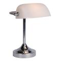 Lucide 17504/01/11 - Stolná lampa BANKER 1xE14/ESL 11W/230V