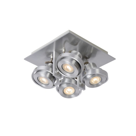 Lucide 17906/20/12 - LED bodové svietidlo LANDA 4xGU10/4,5W/230V chróm