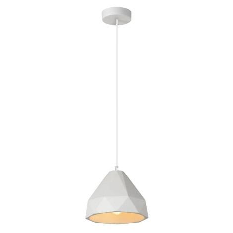 Lucide 35405/20/31 - Závesné svietidlo GIPSY 1xE27/40W/230V biele
