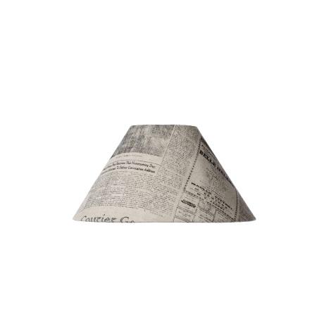 Lucide 61022/25/55 - Tienidlo noviny E27 pr.25cm