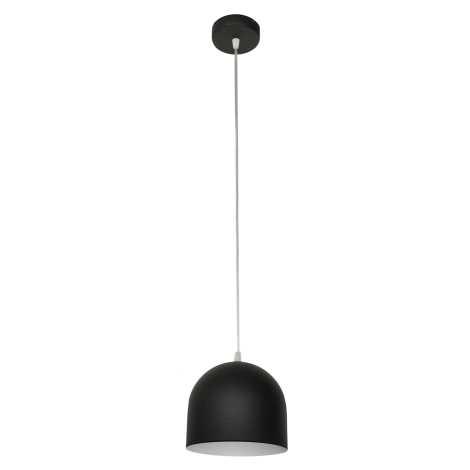 Luster MADISON 1xE27/60W/230V čierna