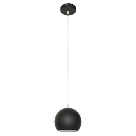 Luster MARION 1xE27/60W/230V čierna