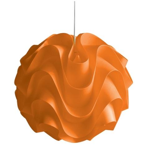 Luster na lanku 1xE27/60W W-3011 oranžová