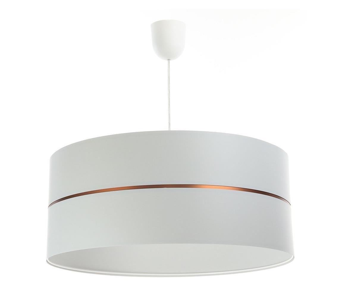 BPS Koncept Luster na lanku GLAM HOME 1xE27/60W/230V pr. 40 cm biela