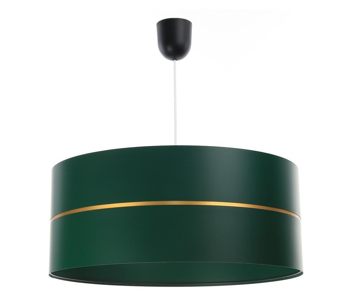 BPS Koncept Luster na lanku GLAM HOME 1xE27/60W/230V pr. 40 cm zelená
