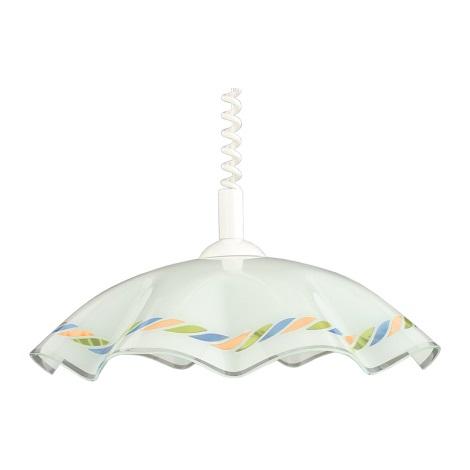 Luster sťahovací LYRA GLASS sklo
