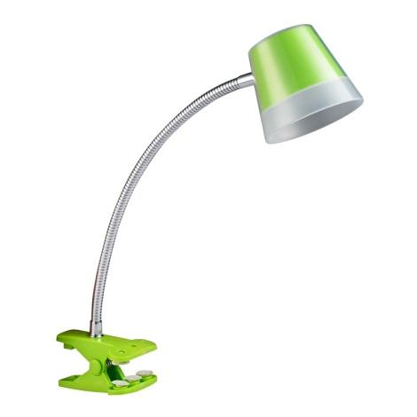 Luxera 26052 - LED lampa s klipom VIGO LED SMD/4W/230V