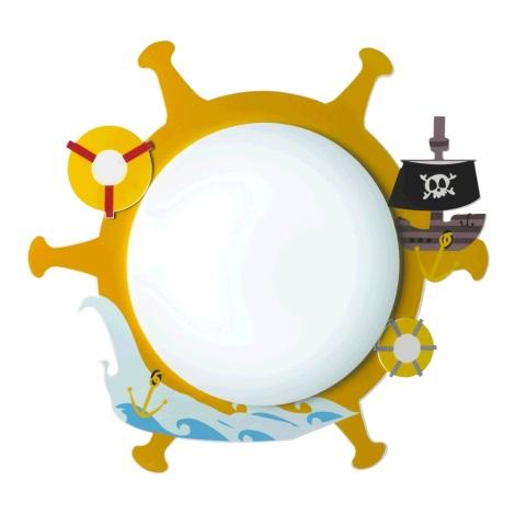 Luxera 28024 - Detské stropné svietidlo PIRAT 3xE14/9W/230V