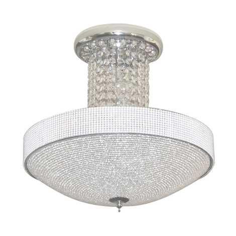 Luxera 32303 - Krištáľové stropné svietidlo Saladin 5xE14/40W/230V