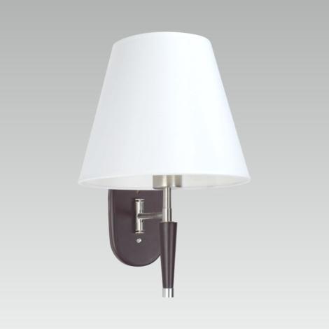 Luxera 33510 - Nástenná lampička BANKOK E27/60W/230V
