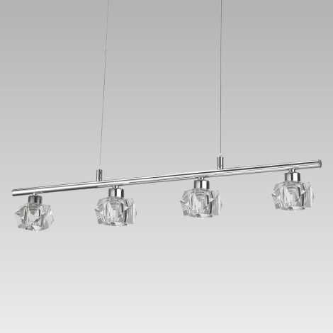 LUXERA 34042 - LED Závesné svietidlo ZENITH 4xLED/5W