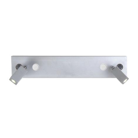 Luxera 41113 - bodové svietidlo HILTON 54xLED/5W +2 xCREE LED/3W