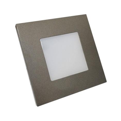 Luxera 48305 - LED orientačné svietidlo STEP LIGHT 16xLED SMD/1W/230V