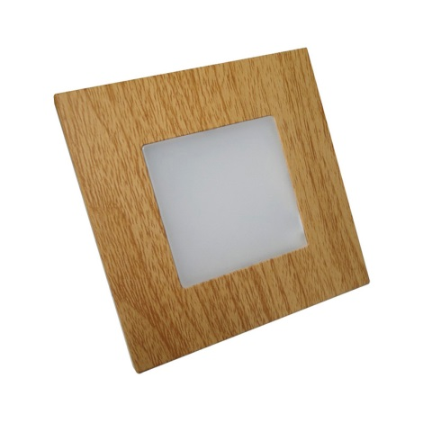 Luxera 48307 - LED orientačné svietidlo STEP LIGHT 16xLED SMD/1W/230V